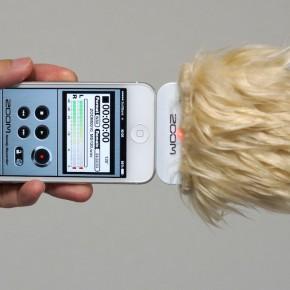 ZOOM iQ5 自作ウインドジャマー