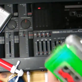 【YouTube】 cassette tape session